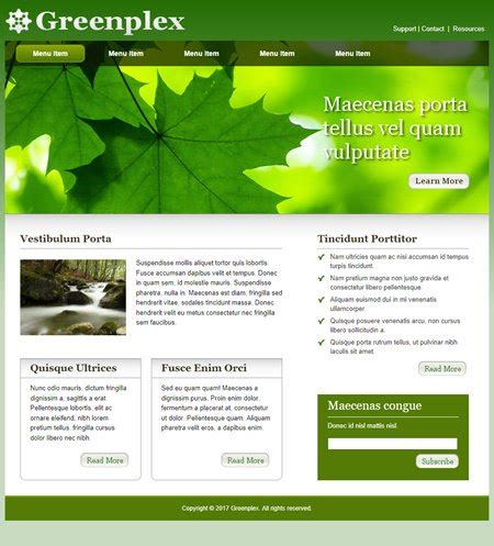templates of website website realizer template websites page 3