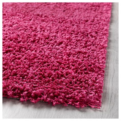 ikea pink rug hen rug high pile bright pink 80x80 cm ikea