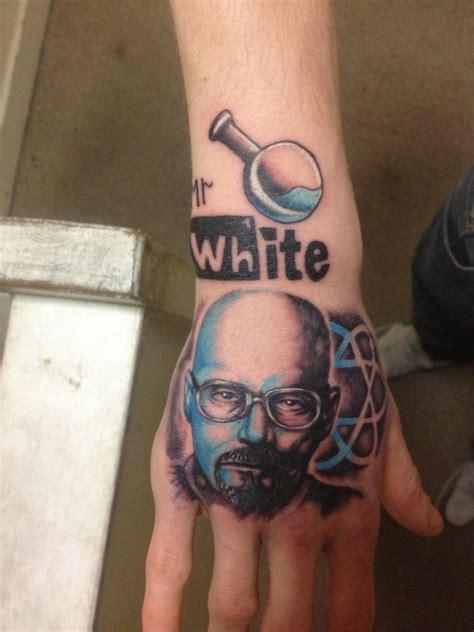 bryan cranston tattoo breaking bad best tattoos dedicated to breaking bad and