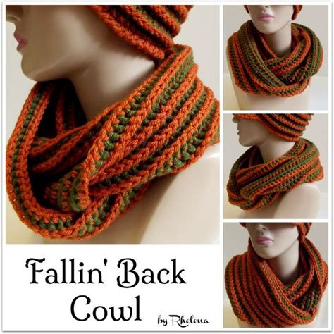 pinterest pattern for infinity scarf fallin back cowl free pattern ᛡ cowls infinity