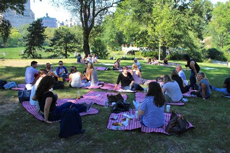 Lking Tour Picnic Events In Central Park
