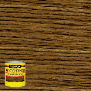 Interior Wood Stain Colors Home Depot by Minwax 8 Oz Wood Finish Espresso Based Interior Stain