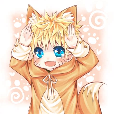 imagenes anime bebes chibi kitsune naruto by twingkly d5hnfck png 600 215 600