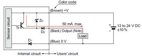 photoelectric sensor circuit diagram ultra slim photoelectric sensor ex 10 ver 2 i o circuit