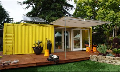 shipping container tiny house  wheels shipping container