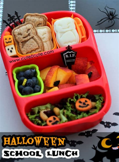 halloween themed lunch pin by bentousa on halloween theme party snack bento lunch