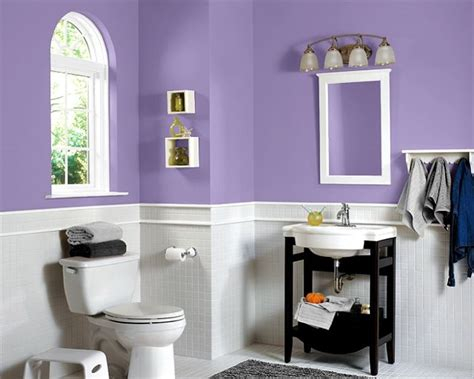 Purple And White Bathroom 17 Best Images About Bathroom Ideas On Pinterest A Well Bathroom Paint Colors And Glass