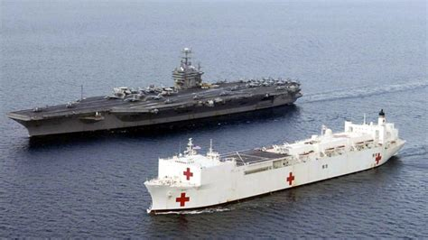 how the us navy uses the largest hospital ships in the - Biggest Private Ships In The World