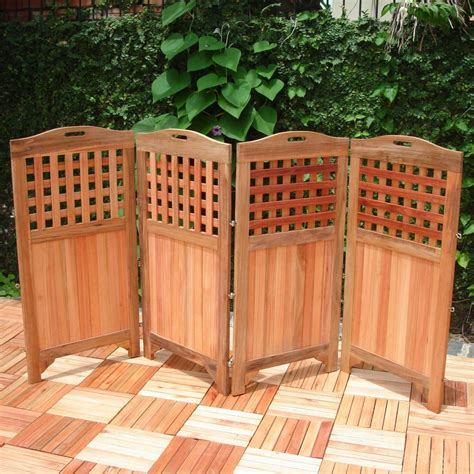 Patio Divider Ideas Outdoor Screen Dividers Ideas 4 Homes
