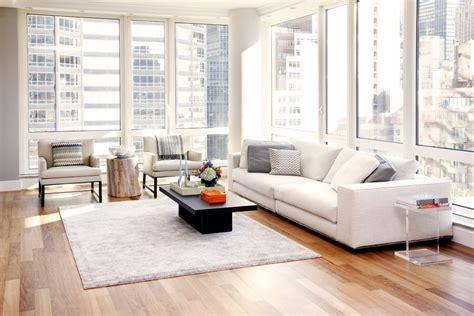 Minimalist Living Room Apartment by Dr Interior Design Expert
