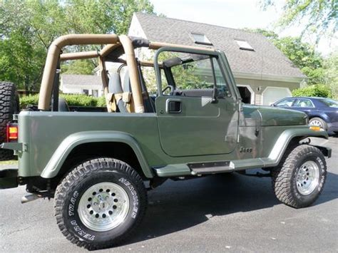 1992 Jeep Wrangler Yj Purchase Used 1992 Jeep Yj In Cary Illinois