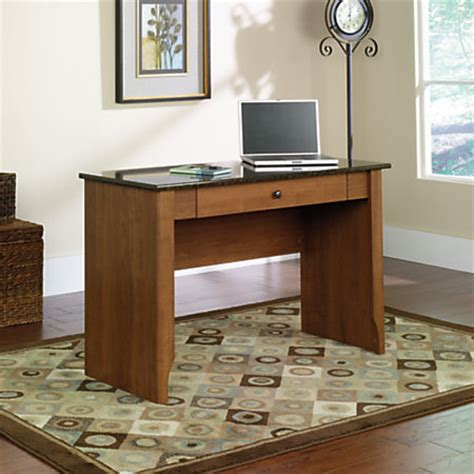 faux marble top desk sauder appleton faux marble top writing desk sand pear by