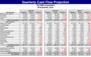 flow projection template excel free quarterly flow projection