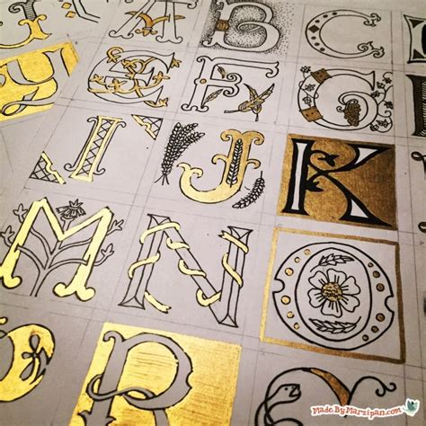 illuminated letter templates free illuminated lettering made by marzipan