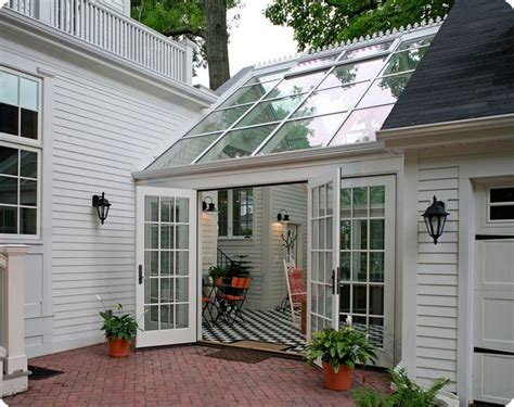 angled garage with mudroom between screened porch off bkfst for residential sunroom additional living space beautiful