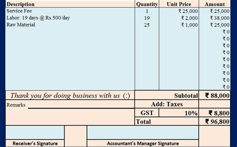 download invoice with proposed gst in union budget 2017