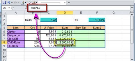 absolute relative references in excel