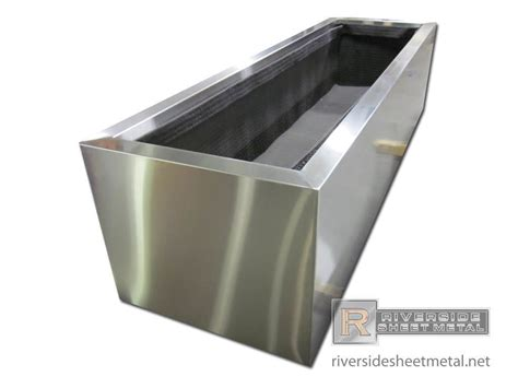 stainless steel planters modern indoor pots and pictures