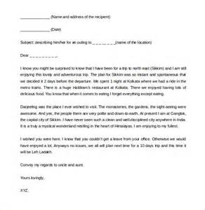 36 friendly letter templates free sample example