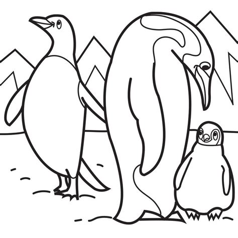 penguin coloring pages for toddlers penguins coloring pages to download and print for free