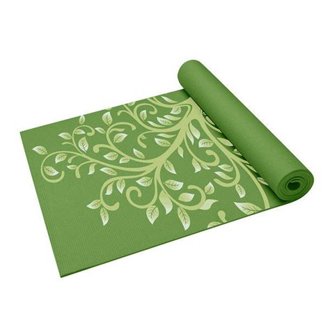 Gaiam Mat Cleaning by Gaiam Tree Of Wisdom Thin Mat Fitness Sports