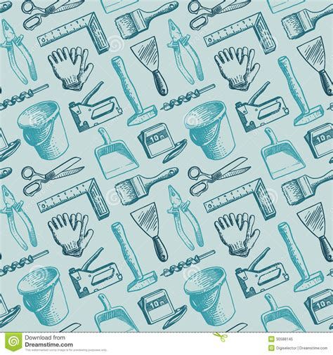 svg pattern not working tools instruments seamless pattern vector royalty free