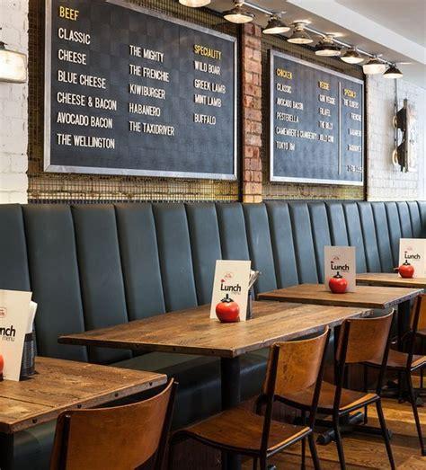 cafe bench menu top 25 best burger restaurant ideas on pinterest burger