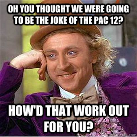 Steve Spurrier Memes - oh you thought we were going to be the joke of the pac 12