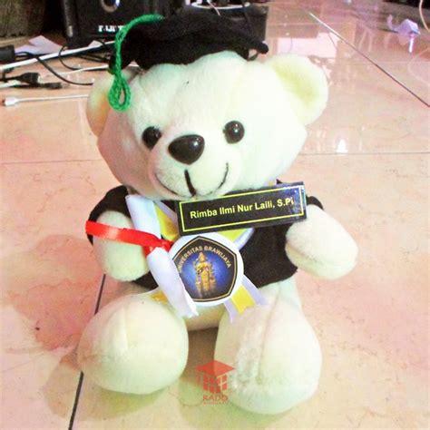 Boneka Wisuda Di Malang boneka wisuda duduk universitas brawijaya kado wisudaku
