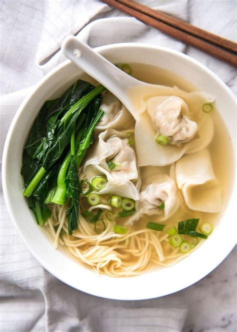 Soup Kitchen Ideas by Wonton Soup Recipetin Eats