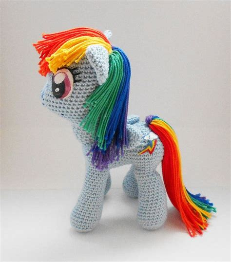 amigurumi pattern pony my little pony amigurumi pattern