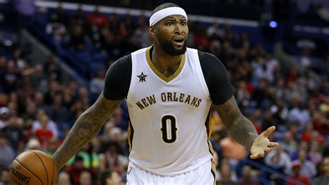demarcus cousins demarcus cousins fined pelicans f used foul language si com