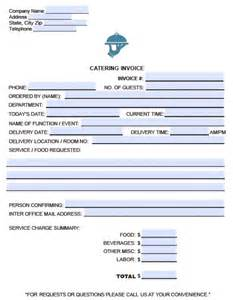 catering template catering invoice template pdf driverlayer search engine