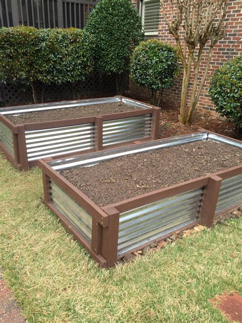How To Make A Raised Planter by New Raised Bed Planters Approach Birmingham