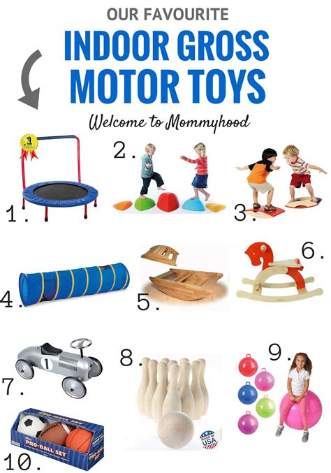 motor skills in welcome to mommyhood our favourite indoor gross motor toys