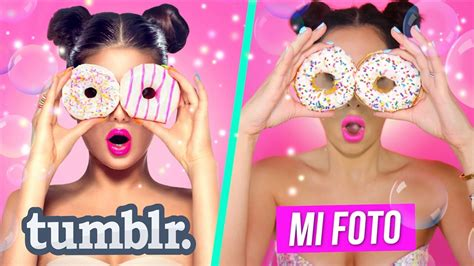 decorar fotos snapchat imitando fotos tumblr con comida mariale youtube