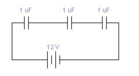 what physical quantity do resistors connected in series in common capacitance formula in series and parallel circuits physicsabout