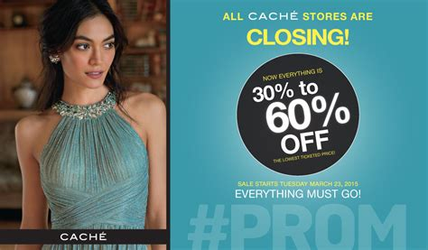 dress with style save money at cache liquidation sale