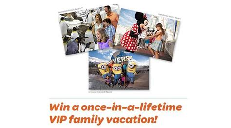 Orlando Sweepstakes - visit orlando win a once in a lifetime vip family vacation kennythepirate com