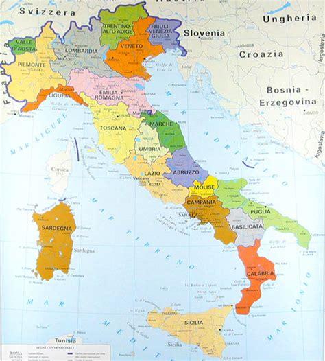 mapas de italia mapa f 237 sico pol 237 tico y regiones de italia