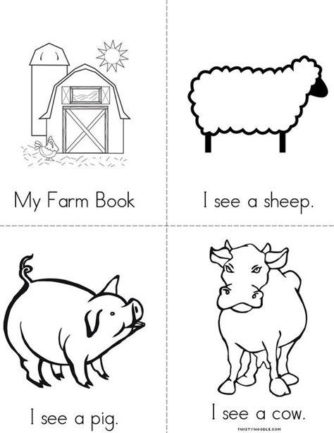 printable animal activity book farm book twisty noodle