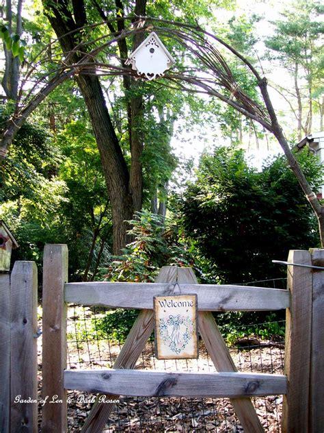 Diy Garden Arbor Gate Diy Project A Simple Branch Arbor Our Fairfield Home