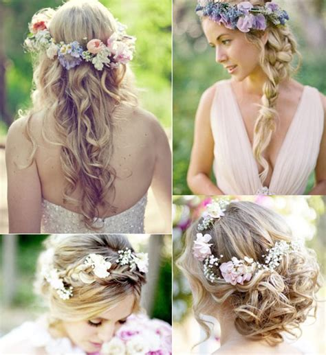 bohemian wedding hairstyles for hair 2014 boho wedding hair styles ideas vpfashion