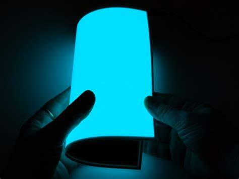 Electroluminescent L by Electroluminescence Imprimerie Nouvelle De Marseille