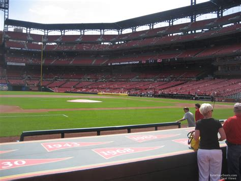 section 157 busch stadium busch stadium section 157 rateyourseats com