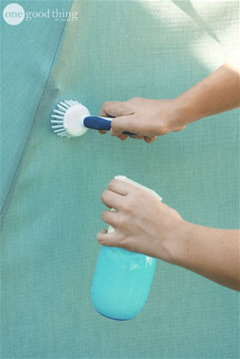 how to clean patio umbrella how to clean your patio umbrella one thing by jillee
