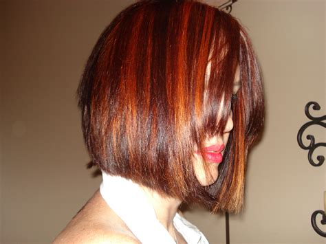 swing bob cut swing bob beat short hairstyle 2013