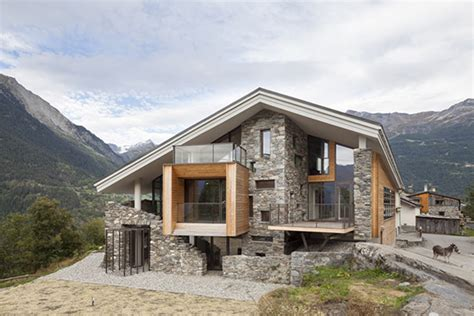 beautiful mountain houses mountain house inspired by the neighboring rough landscape
