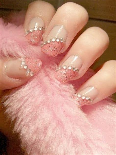fotos de uñas pintadas rosas fotos de u 241 as pintadas color rosa 50 ejemplos pink