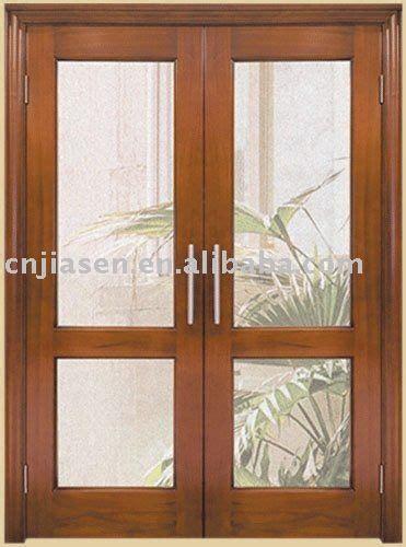 puertas de interior de madera  vidrio buscar